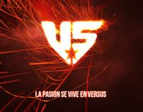 La pasión se vive en Versus