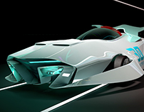 Racing Car Number 30 Concept