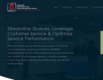 SmartQ Queue Management System Product (Web Design)