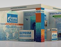 """Exhibition stand """"Gazprom engineering""""."""