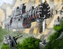 """Иллюстрация """"Флот Её Величества"""""""