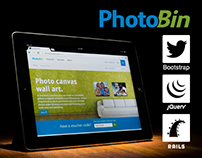 PhotoBin Website