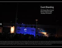 Event Branding - Music Festival US Embassy  (USERA)