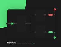 Flowww - Flowcharts, roadmaps, brainstorming