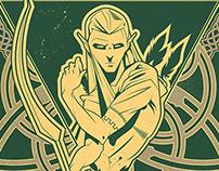 Legolas Poster