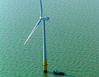 Off shore wind farms - infographic