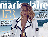 Marie Claire Turkey July '14