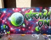 Dream on - My spray painting in Hajdúhadház