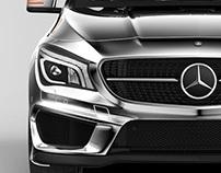 Mercedes CLA 45 AMG 2014
