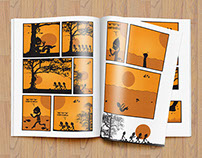 Graphic Novels and Illustrations