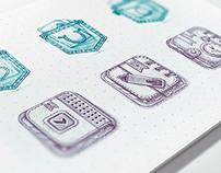 IOS Icon Sketches