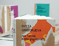 Sveta Grigorjeva book design