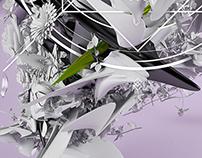 Organic Primitive - Digital Artwork