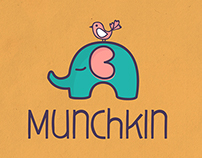 Munchkin - Logo for Sale! www.One-Giraphe.com