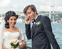 Turkish wedding: Gülsah and Umut.