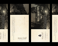 Voucher design — Hadar Chalet, 2015