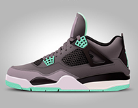 Nike Air Jordan Digital Image