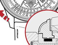 Oris Watch - Brochure Illustrations