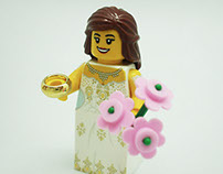 Lego Bridal Gown Designs