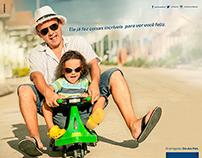 Anúncios Dia dos Pais