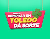 Comprar em Toledo dá Sorte // 2014