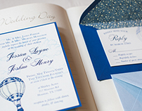 Wedding Invitations - Jessica & Joshua