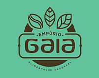 Empório Gaia - Branding