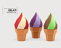 Gelati - 3 DIY Papercraft Kits