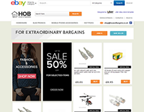 House of Bargains ebay store design