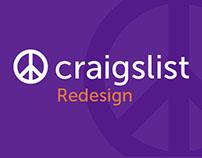 Craigslist: Redesign