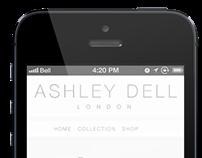 Ashley Dell  - Logo Type, Design and Development