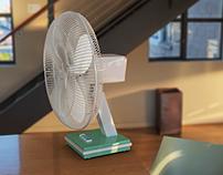 3D Realistic Fan Model