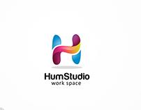 H Logo Template