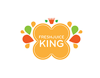 Juice Logo - Option 2 (Colors: Oranges and greens)
