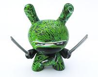 """Grass Ninja 3"""" Dunny custom"""