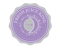 Juice Logo - Option 1 (Colors: Grey and Lila)