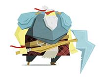 The Pirate Viking Warrior