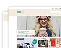 Minimal eCommerce layout