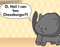Cheezeburger Cat Game