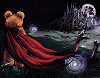 Teddy Game Illustration