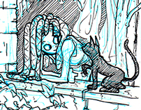 Carefree Dreadlock sketches