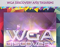 WGA Discovery Afiş Çalışması - Flyer Work