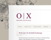 Orchid Exchange Flower Shop Redesign
