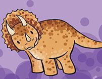 Dino Mini Prints