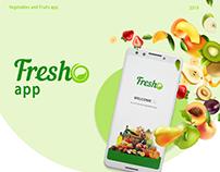 Fresh O - app design