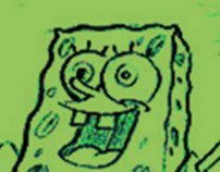 Spongebob Squarepants promo storyboards for Nickelodeon