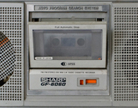 Rocking Clock Radio
