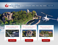 Helicopter Tours Website and Branding
