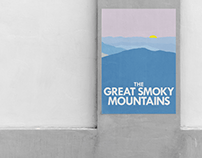 The Great Smoky Mountains Poster