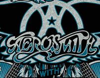 Aerosmith gig Poster